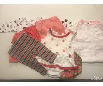 Бесплатная детская одежда на девочку от 0 до 6 месяцев