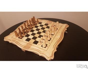 Шахматы  3-1 из дерева ручной работы