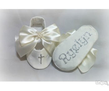 Handmade Christening Shoes