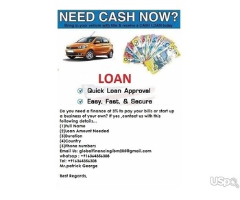 DO YOU NEED A QUICK LOAN APPLY TODAY