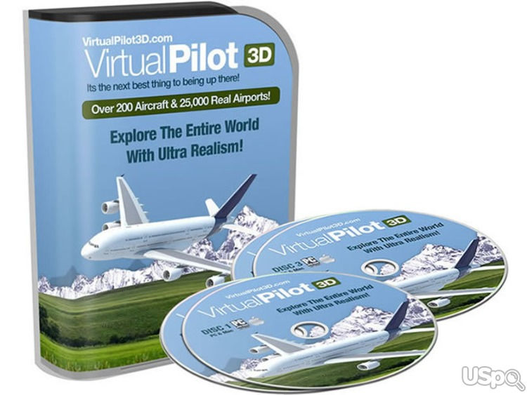VirtualPilotЗD - Ultra-Realistic Flight Sim Used Bу Pilots