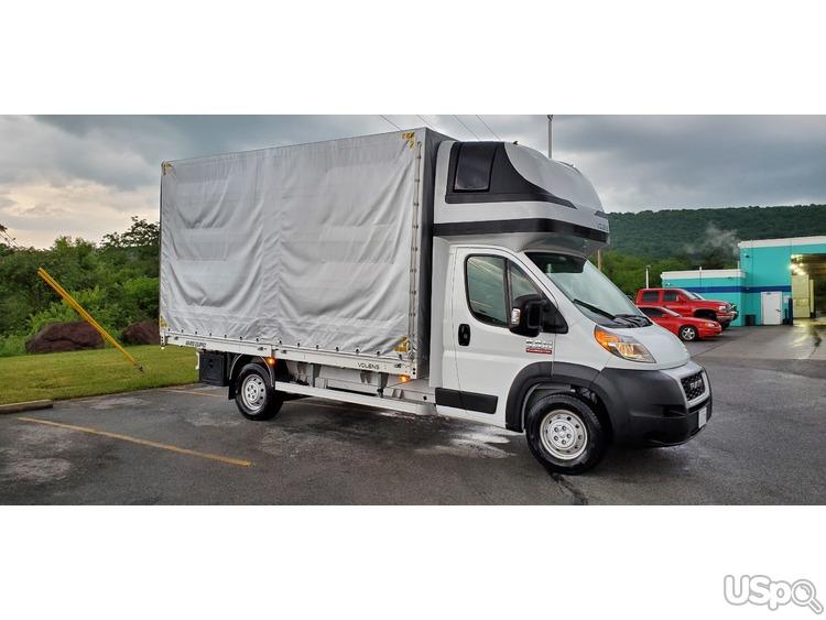 CDL не требуется. Ищем водителей на Box Truck (Тентованный).