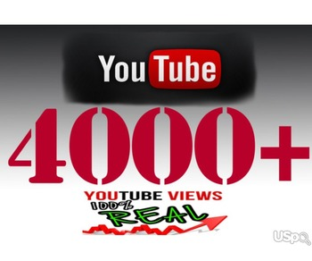 4000 views for YOUTUBE!!!