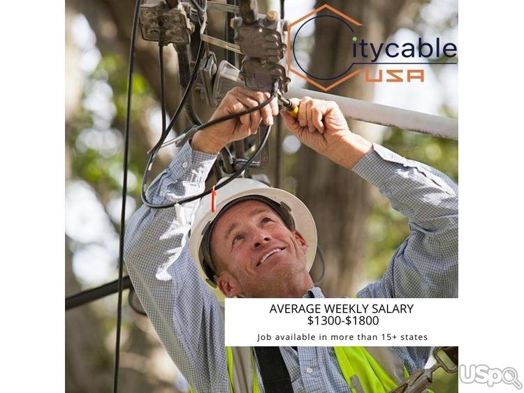 Работа кабельным техником