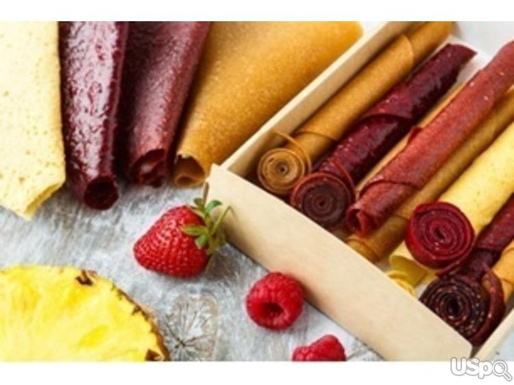 Натуральные фруктовые сладости: пастила, цукаты