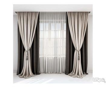 Делаю текстильный дизайн и шью шторы.