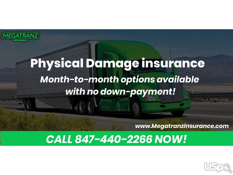 Protect yourself with Physical Damage insurance from Megatranz.