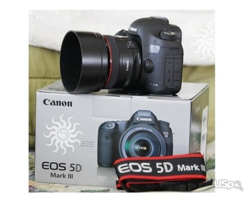 Canon EOS 5D Mark III с объективом EF 24-105mm IS