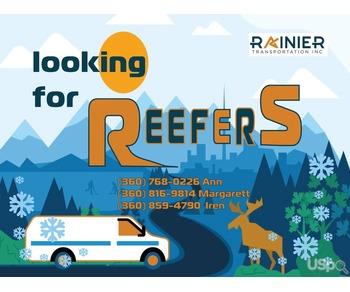 Приглашаем к сотрудничеству водителей с собственным Reefer