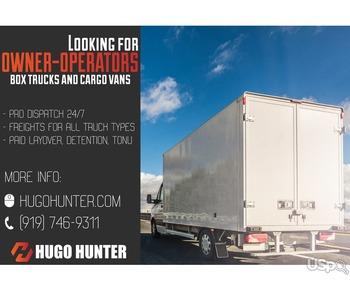 Мы Hugo Hunter Express – логистическая компания, которой необходимы квалифицированные перевозчики.