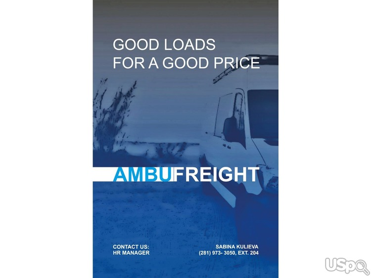Компания Ambufreight Inc ищет водителей