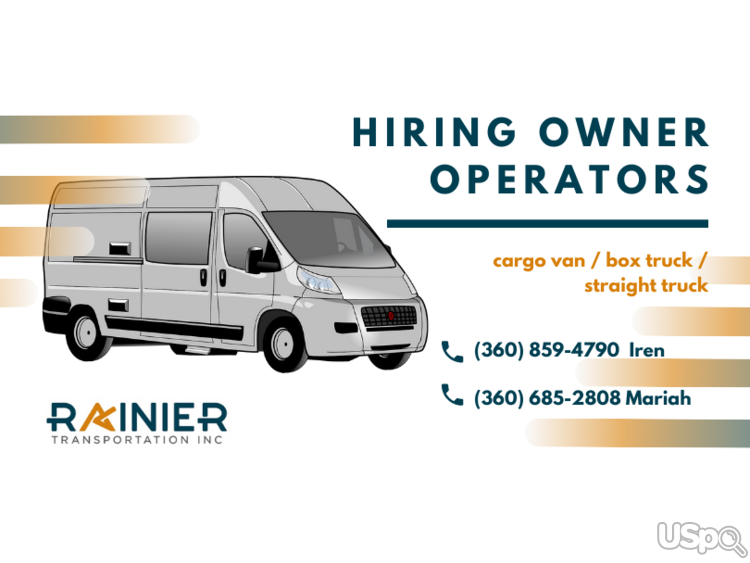 Carrier company needs owner operators