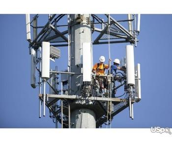Работа на телекоммуникационных вышках