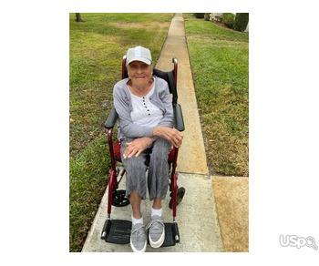 с проживанием к пожилой женщине