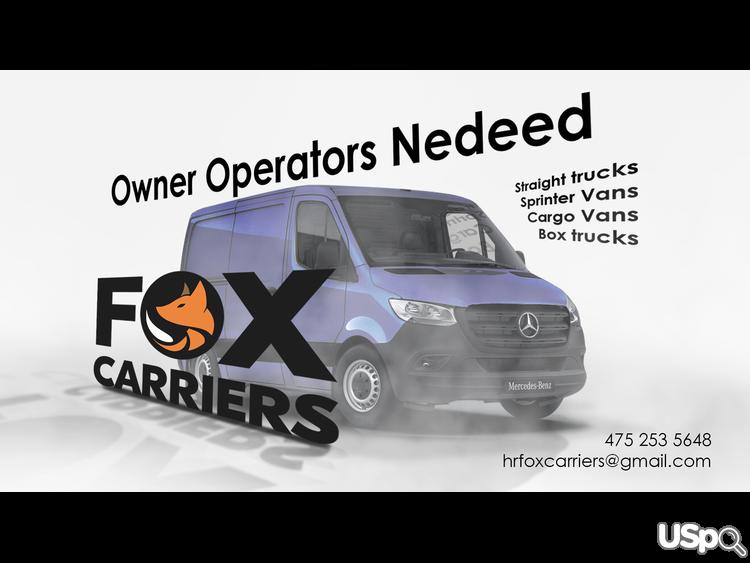 Owner Operators Needed