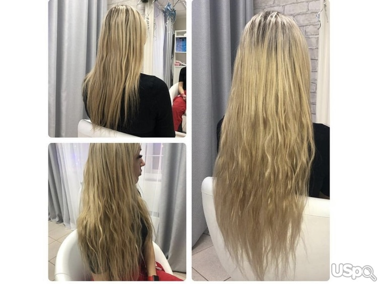 Hair Extension Наращивание волос