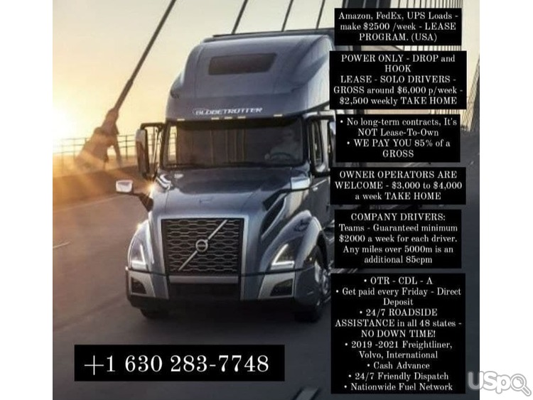 CDL A truck drivers