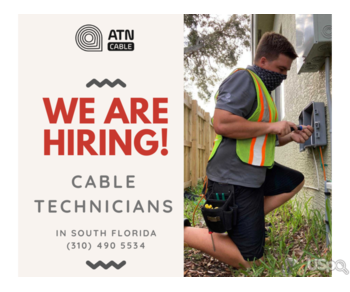 ATN Cable нанимает на работу кабельных техников!