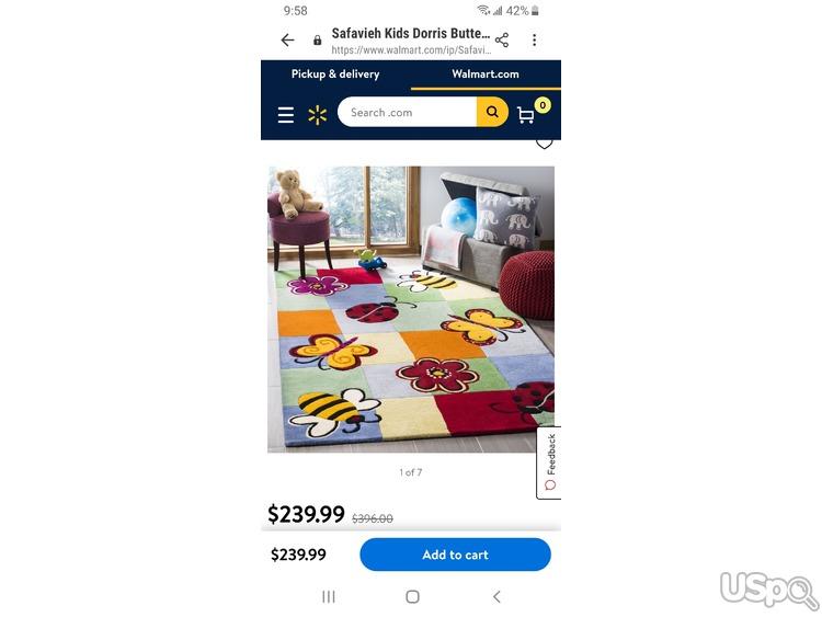Продам ковер в детскую комнату