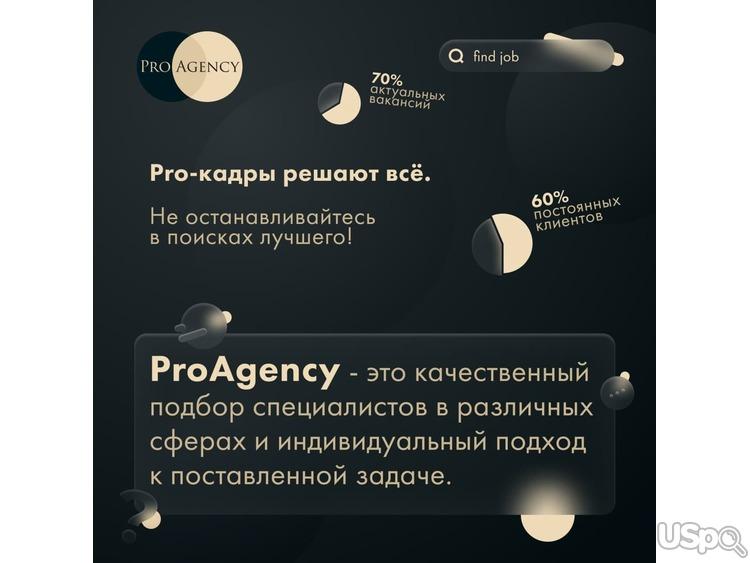 Pro Agency - помощник достичь вершин.