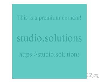 studio.solutions – This is a premium domain!