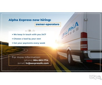 Owner-operators wanted!