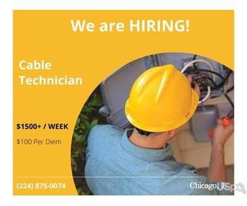 Veritas Cable нанимает на работу  (МОЖНО БЕЗ ОПЫТА) кабельных техников