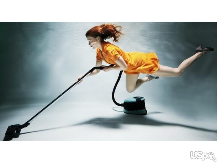 Открытки, картинки смешные уборка дома